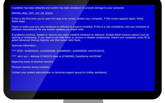 藍屏(BSOD)怎麼辦?談Microsoft Windows dump file解析